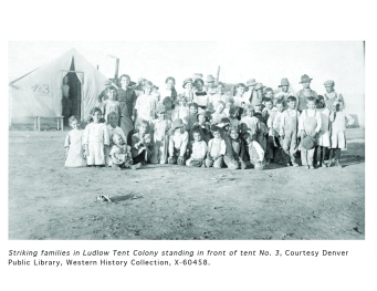 Striking Families In Ludlow Tent Colony