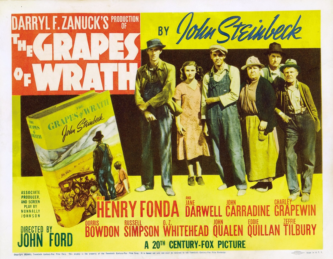themes of hatred and hostility in the grapes of wrath by john steinbeck In what ways does the hostility of the local people change the migrants  a teacher's guide to john steinbeck's the grapes of wrath 3 8.