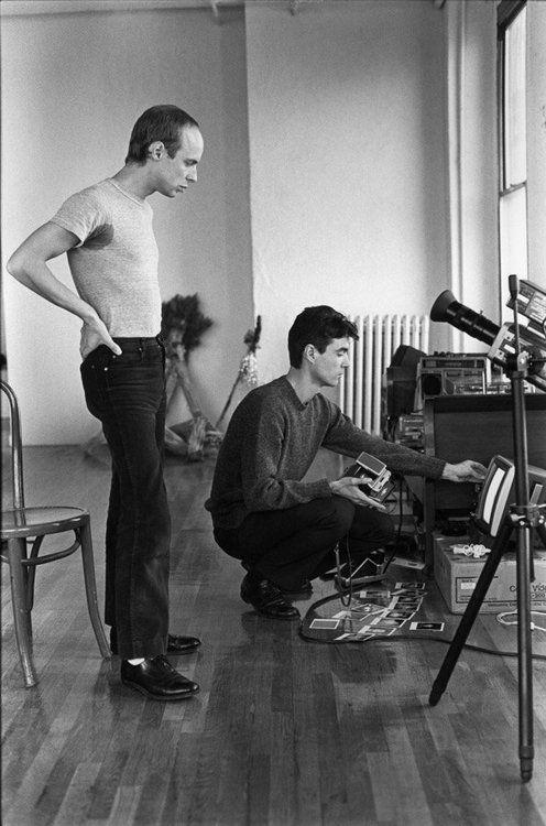 Brian Eno David Byrne NYC