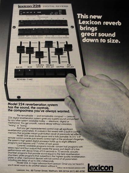 Lexicon Model 224 1978
