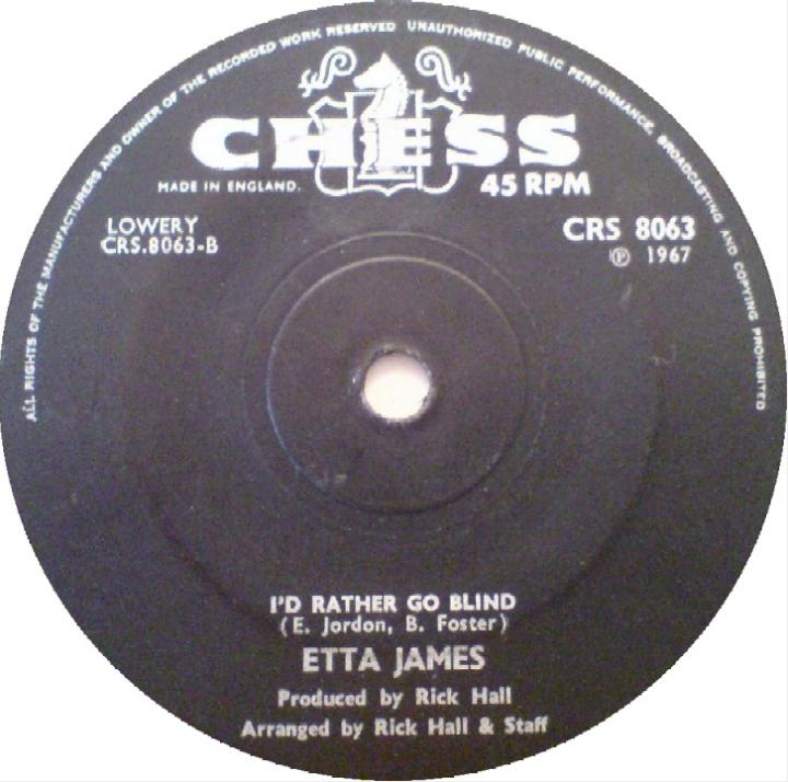 Etta James Id Rather Go Blind